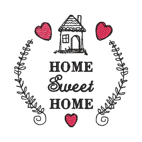 Rahmen Home Sweet Home