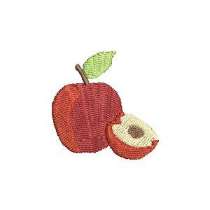 8 Früchte Obst Set Stickdatei 10x10